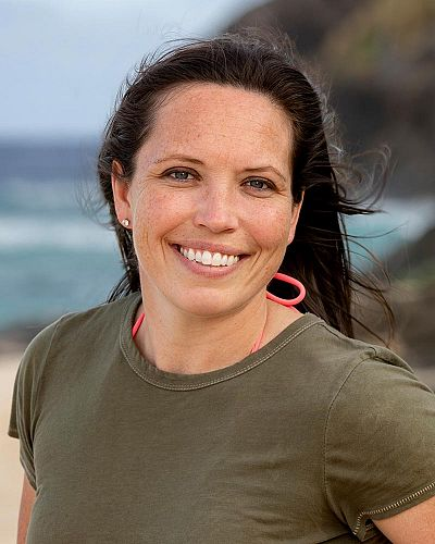 Sarah Lacina is still on the Island for Survivor Winners at War
