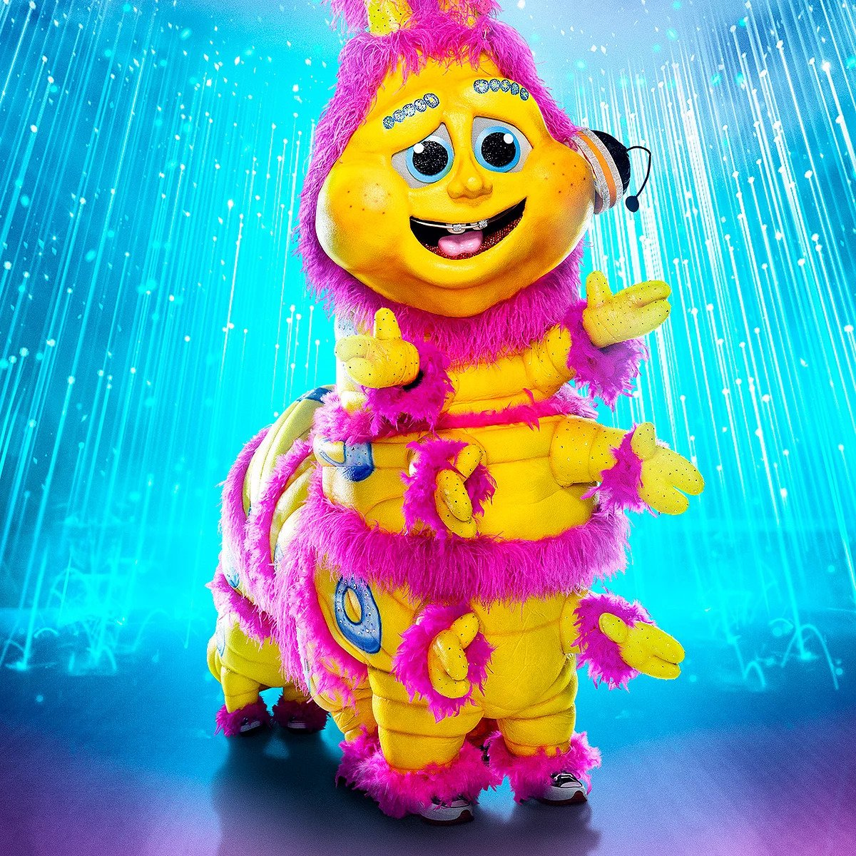 Caterpillar is still in to win The Masked Singer