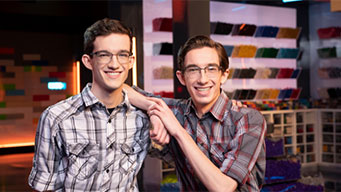 Caleb & Jacob is still in to win LEGO Masters