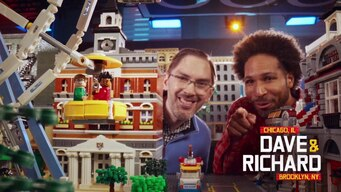 Dave & Richard is out on LEGO Masters