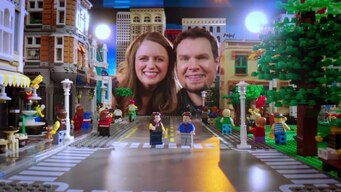 Maria & Philip is out on LEGO Masters