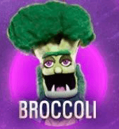 Brocolli is out on The Masked Singer