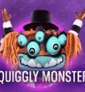 Squiggly Monster is out on The Masked Singer