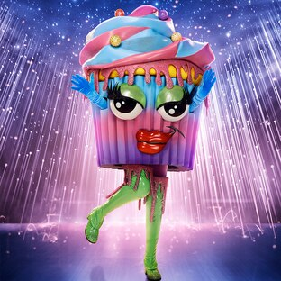 Cupcake is out on The Masked Singer