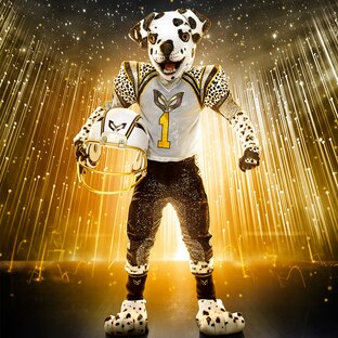 Dalmatian is out on The Masked Singer
